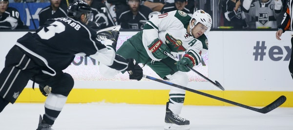 Zach Parise's five goals tie him for second in the NHL, and his three power-play goals are tied for first.