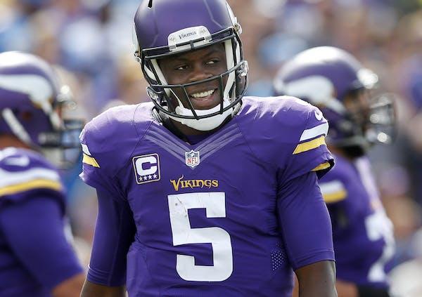 Vikings quarterback Teddy Bridgewater