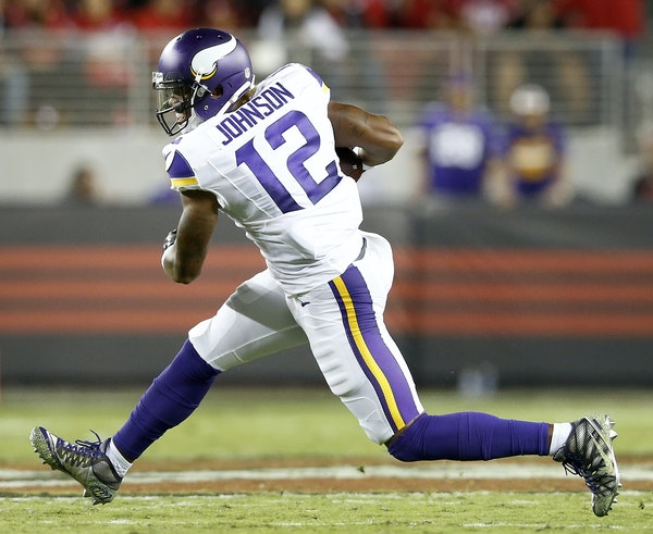 Vikings receiver Charles Johnson