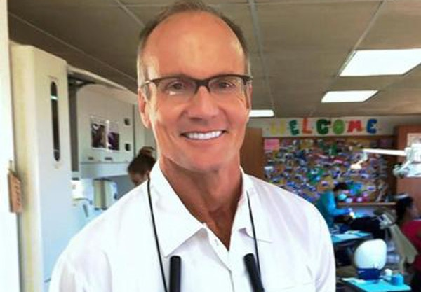 Dr. Walter Palmer, during mission work in Guatemala