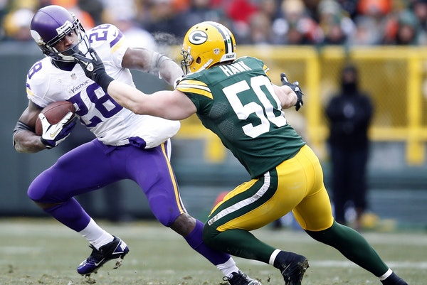 The Vikings-Packers rivalry has been all Green Bay of late, but Sunday's game will be key to the NFC North race.