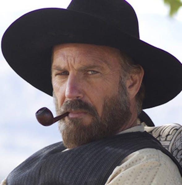 Kevin Costner as Devil Anse Hatfield.