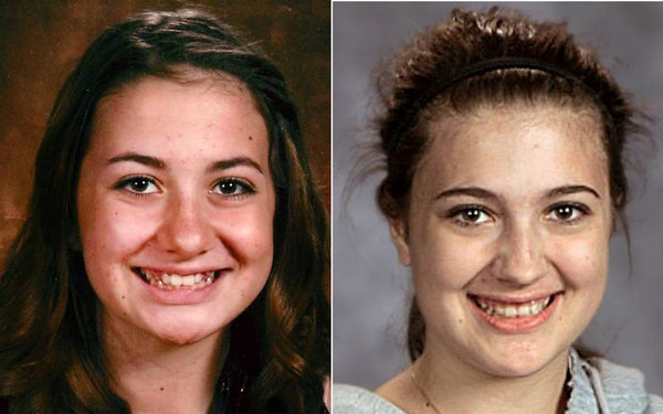 Gianna Rucki, left, and her sister, Samantha Rucki.