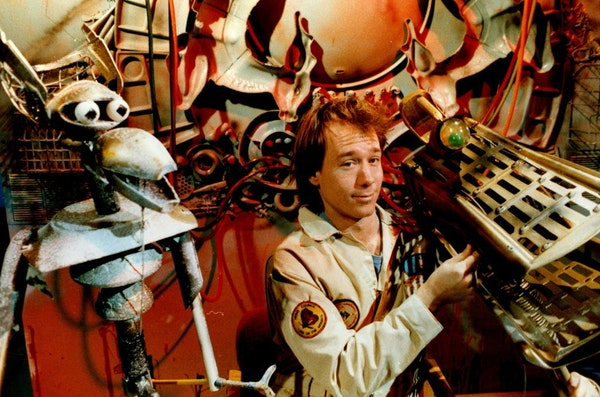 """Joel Hodgson started """"Mystery Science Theater 3000"""" in the late 1980s."""