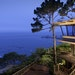 The Carmel Highlands Inn on California's Central Coast offers great ocean views from nearly every perch.