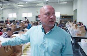 Director John Wayne Barker explains the opportunities at Merrick Inc., a large sheltered workshop.