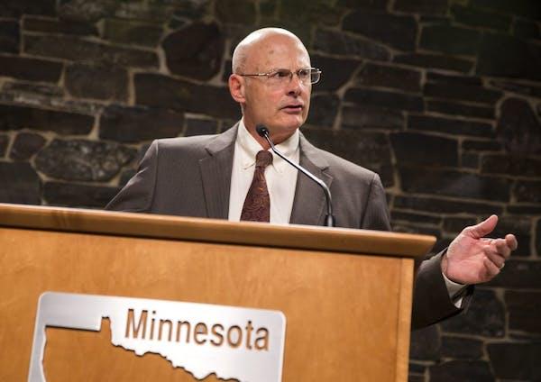Former Minnesota DNR Commissioner Tom Landwehr, shown in 2015.