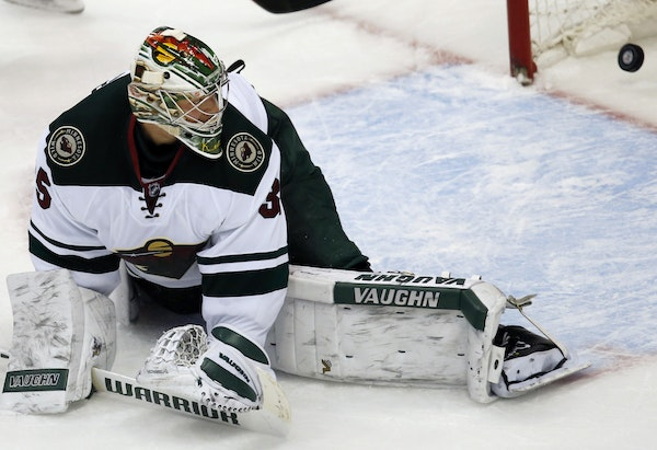 Wild goalie Darcy Kuemper made 18 saves, but the last shot, by Colorado's John Mitchell, decided the game in overtime.