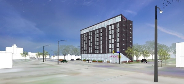 Graves planning a 9-story hotel with restaurant in Uptown