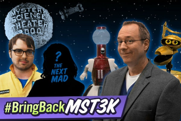 """Joel Hodgson, right, is trying to bring back """"Mystery Science Theater 3000."""""""