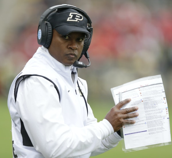 Purdue coach Darrell Hazell is expected back next fall despite his 2-18 Big Ten Conference mark.