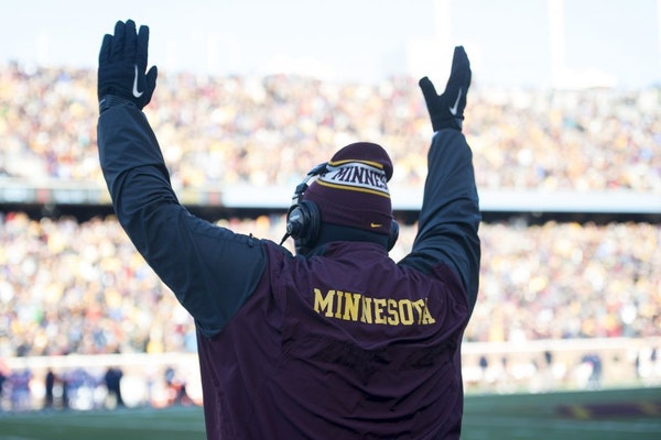 """""""I love 75-80 percent of what we do,"""" Tracy Claeys said about the Minnesota offense. """"This isn't going to be a total overhaul."""""""