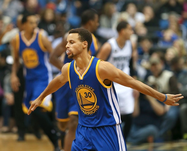 The Steph Show: Warriors beat Wolves 129-116