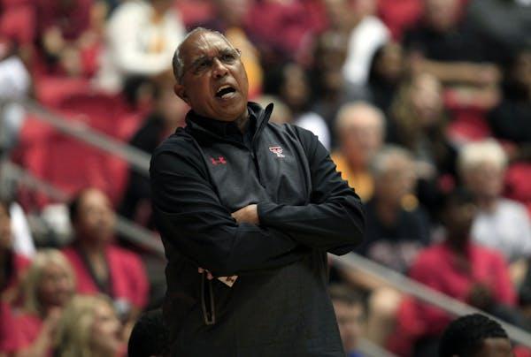 Texas Tech basketball coach Tubby Smith
