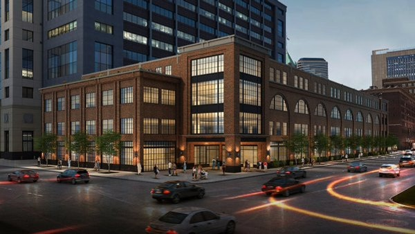 A rendering of Ryan Cos. new headquarters in downtown Minneapolis.