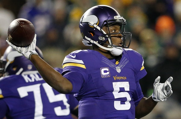In the second year of his four-year rookie contract, Teddy Bridgewater is earning half of what his backup, Shaun Hill, is making this season — good