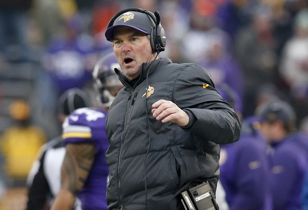 Vikings coach Mike Zimmer can't help but look ahead, after what he saw Sunday.
