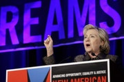 Hillary Clinton, who spoke Monday in New York, will be at the University of Minnesota on Tuesday to detail her strategy to combat Islamic terrorism.