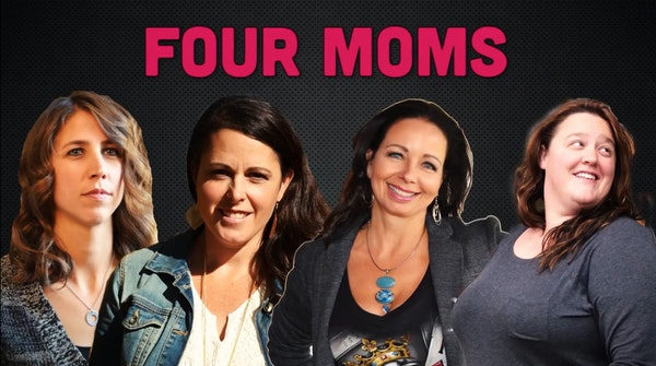 Four women participated in a reality show about hockey moms.