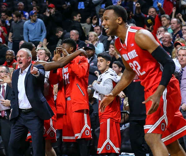 Ohio State, which knocked off No. 4 Kentucky 74-67 on Dec. 19, will feature a young but talented roster when the Buckeyes open Big Ten play at home ag