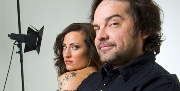 Brian Oake and Keri Noble host the morning show on Cities 97. Oake announced his departure on Friday morning.