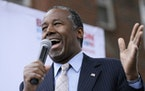 Former GOP chairman to lead Ben Carson's campaign in Minnesota