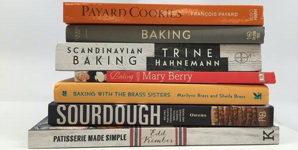 Books for bakers who are (almost) too busy to bake, or have all the time in the world