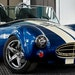 In the driver's seat: It took the team just six weeks to design, print and assemble the Shelby Cobra replica.