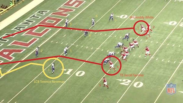 Play of the Week: Newman's interception kills Falcons' momentum