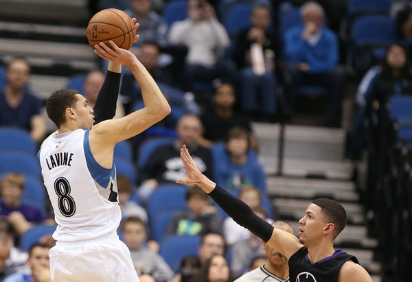 Zach LaVine has the chance to become a reliable three-point marksman.