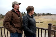 Among those worried about a drop in property values are homeowners Rick and Cheryl Ramberg.