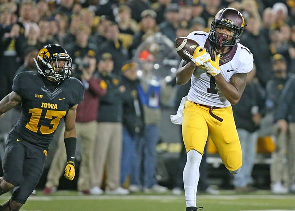 Minnesota's wide receiver KJ Maye is getting to play one final college game.