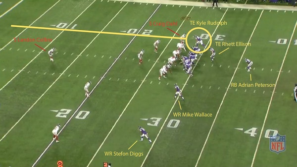 Play of the Week: Rudolph's 28-yard TD reception sparks Vikings' big offensive day