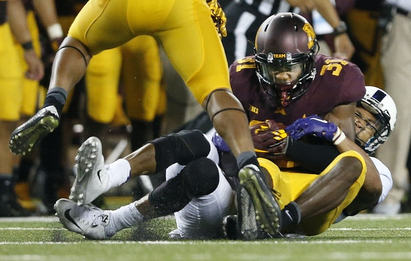 Gophers cornerback Eric Murray had his only interception of the season in the opener against TCU. One reason: Only 12 percent of pass plays went his w