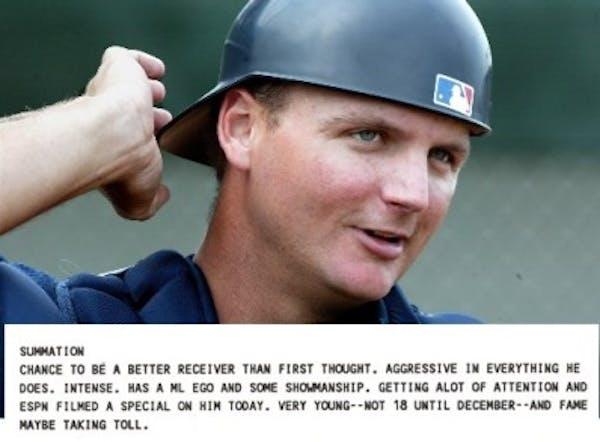 Former Twins catcher A.J. Pierzynski