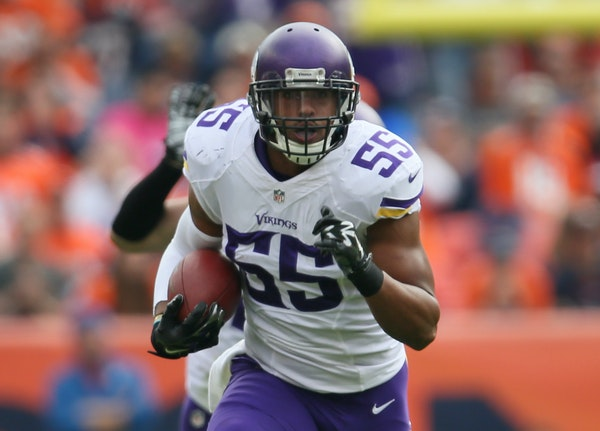 Anthony Barr arrived at the Vikings two years ago ready to play strong-side linebacker.