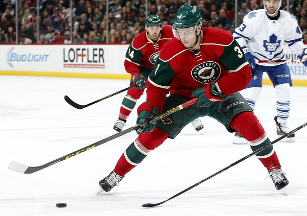 The Wild wants powerful forward Charlie Coyle, who's nimble on his skates and strong on the puck, to use his skills to produce more points.