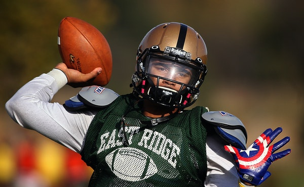 Former East Ridge quarterback standout Seth Green announced Sunday he is committing to the Gophers, a decision that came 14 months after he originally