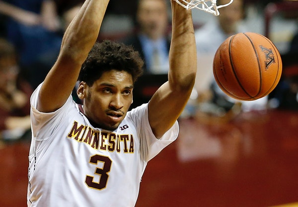 Gophers freshman Jordan Murphy is coming off a 12-point, 18-rebound effort against Chicago State.