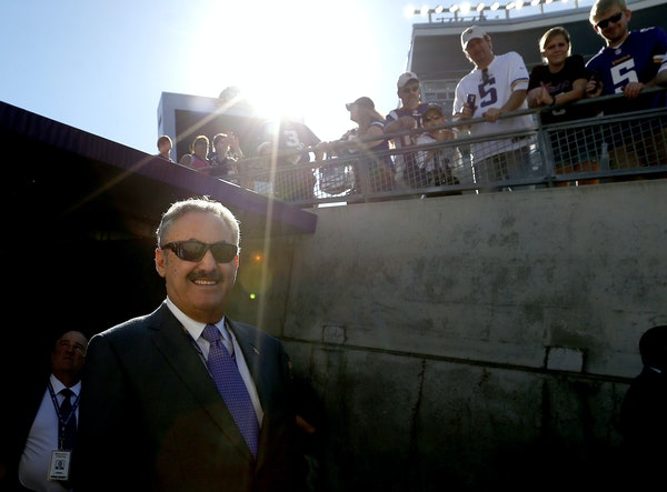 Vikings owner Zygi Wilf basks in the adulation of fans and the progress of his team but is ever mindful of the painful journey his parents and grandpa