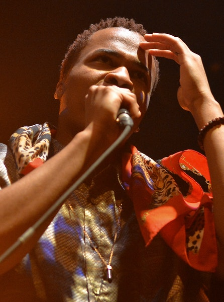Allan Kingdom played the Current's birthday party at First Avenue.