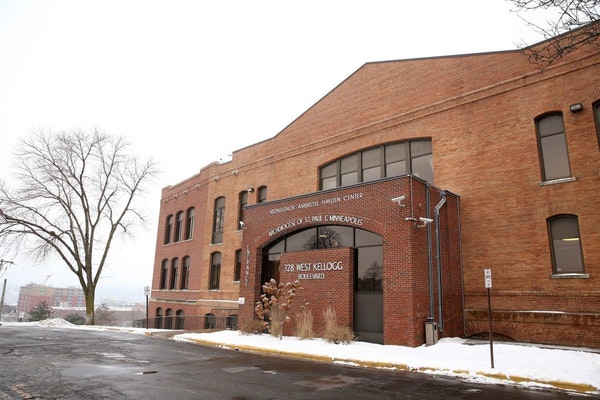 The Hayden Center owned by the St. Paul Minneapolis Archdiocese at 328 West Kellogg Boulevard in St. Paul on Thursday, January 7, 2016.