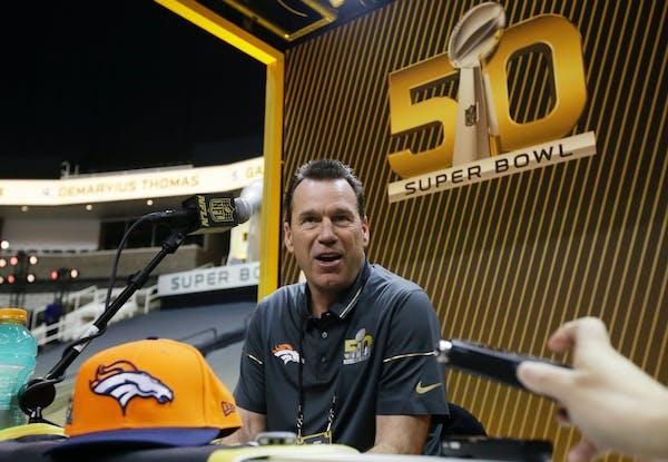 Denver Broncos head coach Gary Kubiak.