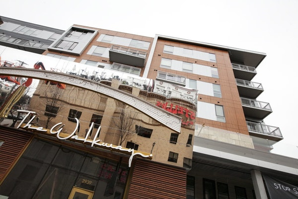 The Walkway, a 92-unit luxury apartment building in Uptown, was a record-setter last year with a per-unit price of $437,000.