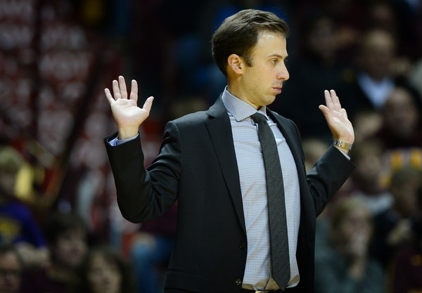 Richard Pitino's Gophers have contributed to the winter basketball misery by winning only one of their last eight games.