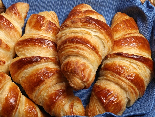 Making croissants is just a series of steps that will produce flaky, buttery rolls more scrumptious than the pillowy breadballs that are all too commo