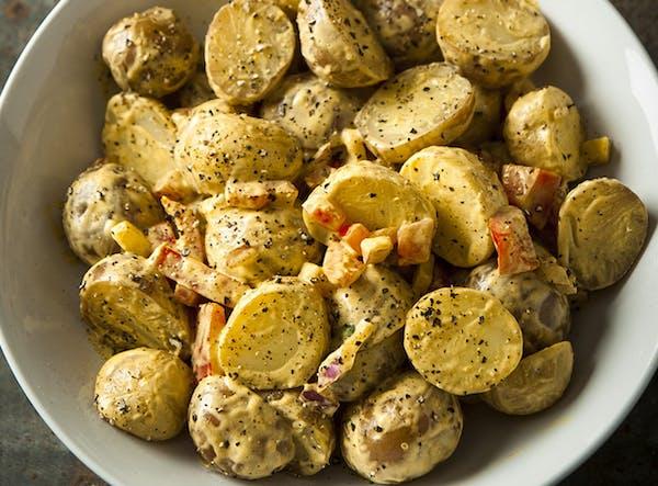 Curry Potato Salad