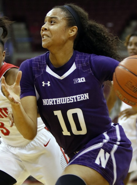 Former Hopkins standout Nia Coffey has scored in double figures in 37 straight games.