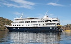 The 232-foot-long Safari Endeavour has five classes of cabins and suites on three decks.