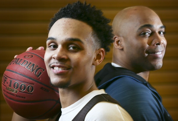 Apple Valley junior guard Gary Trent Jr. already is coveted by college basketball's elite programs, but his father, a former Wolves player, will kee